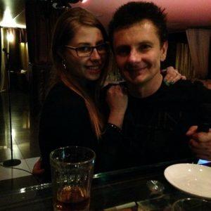 Максим Ярица и жена