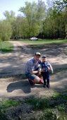 Сергей Воробьев и сыном