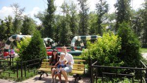Сергей Воробьев с женой и сыном