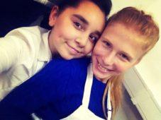 Арина Новикова и Регина