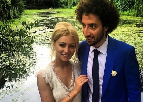 Дмитрий Романов с женой Кристиной