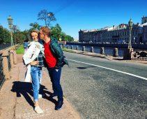 Екатерина Моргунова с мужем Леонидом