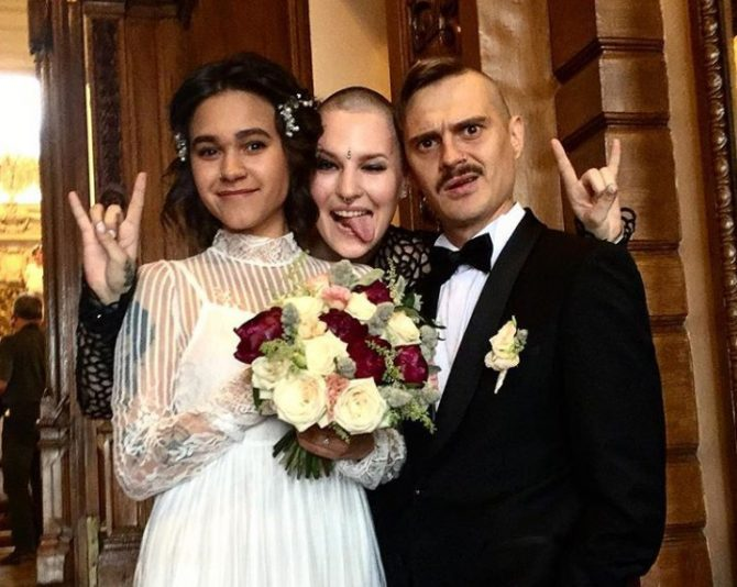 Ира смелая и илья прусикин свадьба