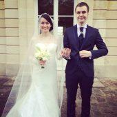 Иван Абрамов с женой