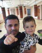 Сергей Пынзарь с сыном