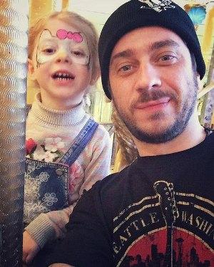 Стас Старовойтов с дочкой