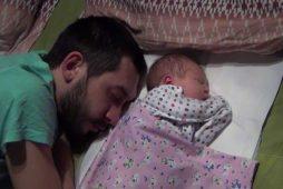 Стас Старовойтов и маленькая дочка