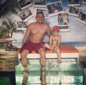 Степан Меньщиков с сыном