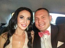 Степан Меньщиков с женой