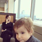 Жена и сын Тимура Тания