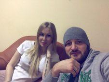 Алексей Самсонов с женой
