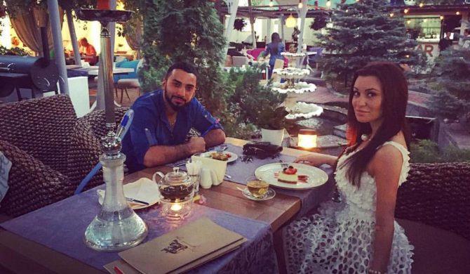 Анна Якунина и Эльмар Бабаев