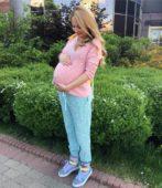 Дарья Пынзарь беременная