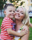 Дарья Пынзарь с сыном