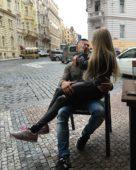 Дарья Пынзарь и муж Сергей