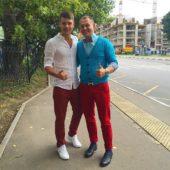 Дмитрий Дмитренко и Степан Меньщиков