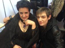 Елена Голунова и Александр Шепс