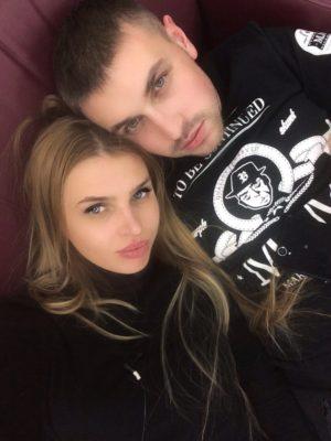Элла Суханова с мужем