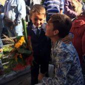 Евгений Кузин и сын Митя