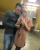 Федор Стрелков и Кристина Лясковец