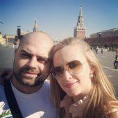 Илья Гажиенко с женой