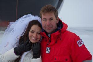 Илья Новиков и его жена Анастасия Шутова