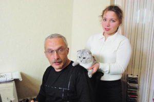 Инна Друзь и папа Александр Друзь