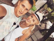 Кристина Лясковец и Федор