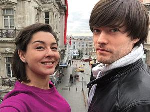Марина Кравец с мужем