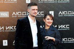 Мария Кравченко с мужем