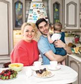 Надежда Ангарская, муж и ребенок