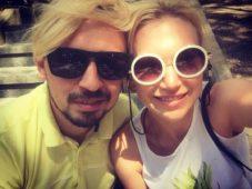 Олег Верещагин с женой