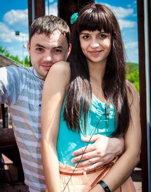 Саша Гобозов и Алиана Устиенко
