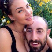 Виктория Берникова с мужем