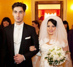 Юлия Колисниченко и Тигран Салибеков свадьба
