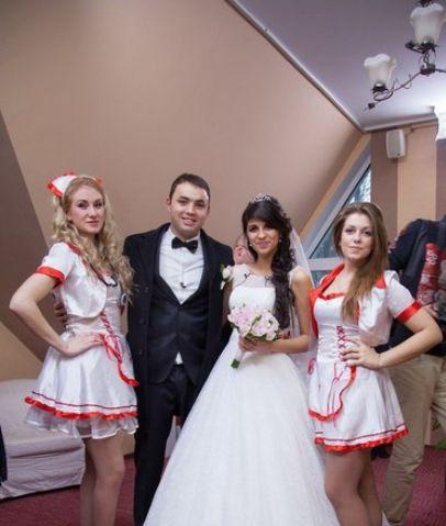 Фото с свадьбы алианы