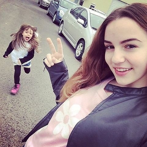 Марьяна Ро с сестрой Маресей