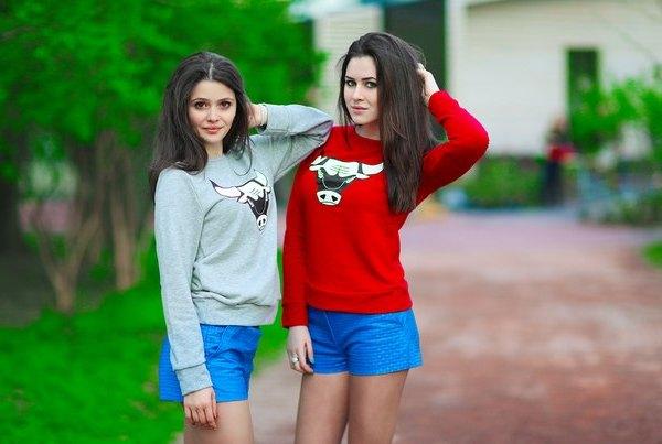 Карина Каспарянц и Юлия Пушман