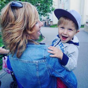 Женя и сын Кости Павлова
