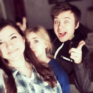 Даша, Соня и Ваня Рудские