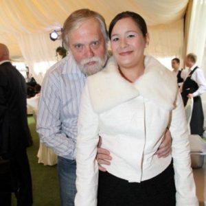 Александр Бялко с женой фото