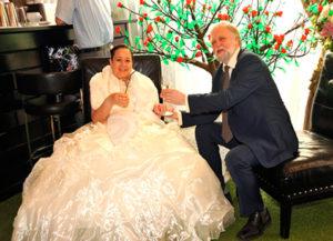 Александр Бялко с женой свадьба