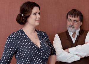 Александр Литвин с женой Аленой