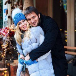 Алексей Самсонов с Юлией Щаулиной