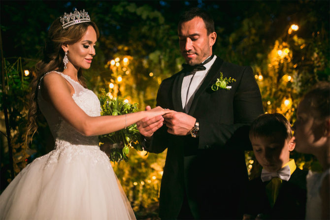 Михаил Терехин и Анна Калашникова свадьба