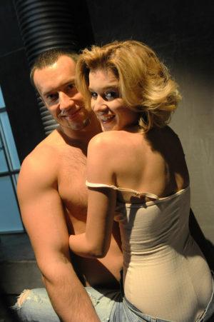 Михаил Терехин с Ксенией Бородиной