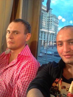Рустам Солнцев и Степан Меньщиков