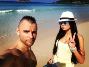 Семен Фролов и Виктория Романец
