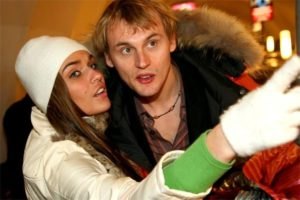 Степан Меньщиков и Алена Водонаева