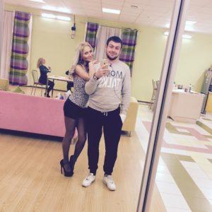 Валерий Блюменкранц и Алена